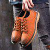 RD1918 Fashion Casual Men Shoes - BROWN