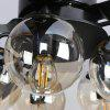 52YD - 5013 132cm Nordic Modern Minimalist Fan Pendant Light with Remote Control for Home 220V - BLACK