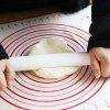 Silicone Large Thickened Kneading Pad - RED