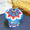 3D Wooden Jigsaw Puzzle Hand-made Creative Rotating Cartoon Small Cat Chain Music Box - BLUEBERRY BLUE