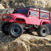 ZD Racing 08422 4WD Rock Crawler Power Climbing RC Car - RTR - LAVA RED