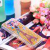 Full Soft Anti-falling Sand Transparent Mobile Phone Case for LG Q8 - MULTI-A