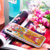 Full Soft Anti-fall Sand Transparent Mobile Phone Case for iPhone Xs Max - MULTI-A