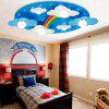 Remote Control Children LED Eye Cartoon Bedroom Light - DODGER BLUE