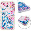 TPU Full Soft Anti-fall Sand Transparent Mobile Phone Case for Samsung Galaxy A3 2017 - MULTI-A