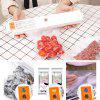 Single Pump Food Small Household Automatic Adjustable Temperature Plastic Vacuum Sealing Machine - WHITE