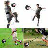 Football Swinging Strap Assisted Kicking Children Soccer Training Equipment - BLACK