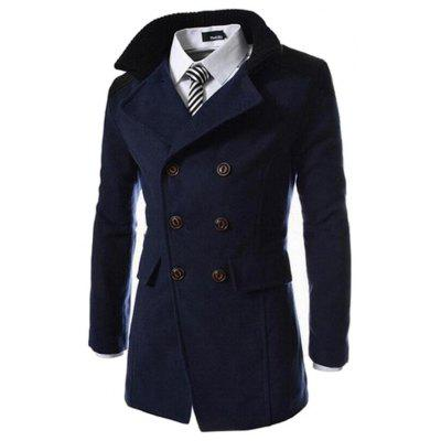 Fashion Lapel Double-sided Long Coat