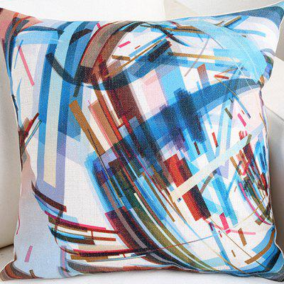Simple Abstract Painted Graffiti Office Car Pillowcase