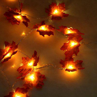 New Maple Leaf LED Personality Creative DIY Decorative Light Home Nordic Festival Room Battery Outdoor Lantern