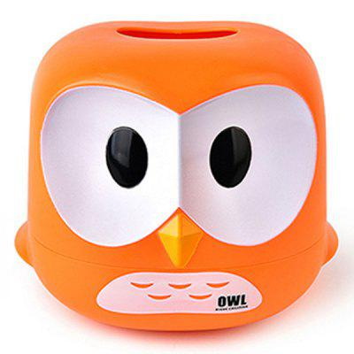 Cartoon Owl Tissue Box