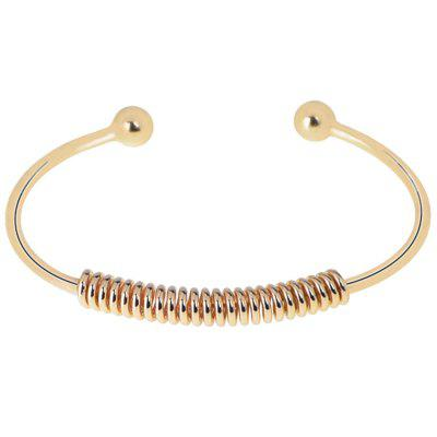 LS - 0008 Simple Style Spiral Boutique Bracelet