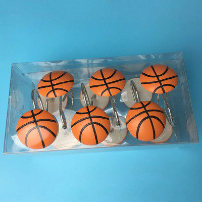 Creatieve decoratie basketbalhaak 12 stks