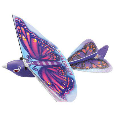 2.4G RC Flying Bird model de aeronave jucărie Drone cu LED-uri Lumini - RTF