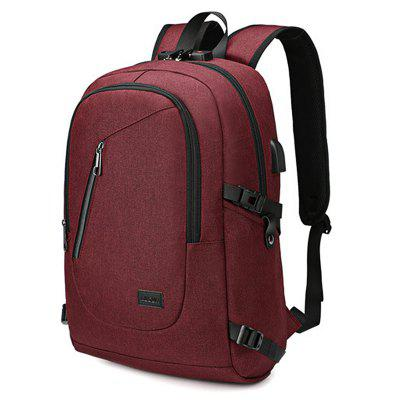 AUGUR Men Business Outdoor Large Capacity Chargeable Backpack