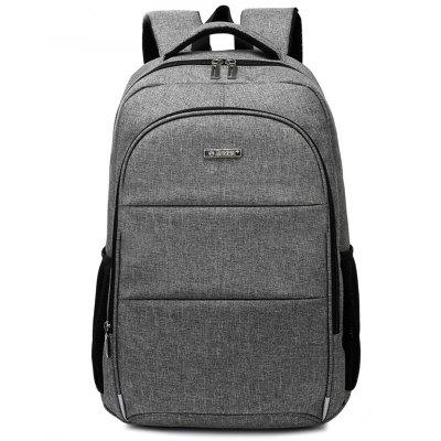AUGUR Men Business Anti-theft Large Capacity Chargeable Backpack