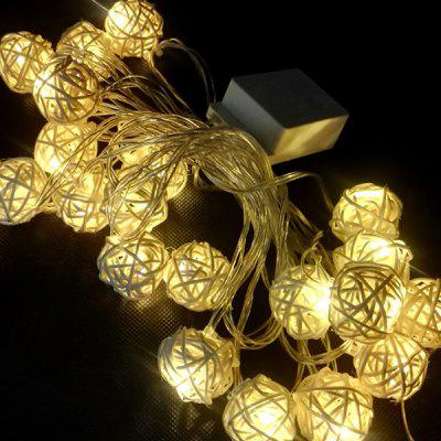 LED Lantern Decoration Solar String Lights Battery Type