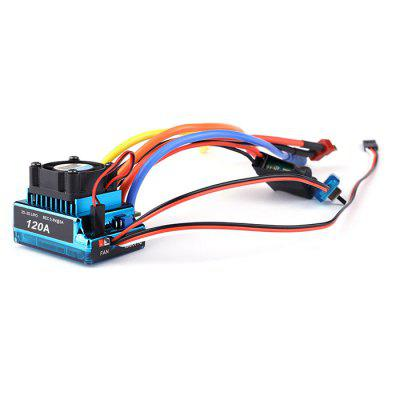 Cross-border Explosion-proof Remote Control Car ESC Waterproof Brushless Electric Switch Motor Set 120A