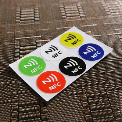 6 Pieces Ntag213 Nfc Smart Label