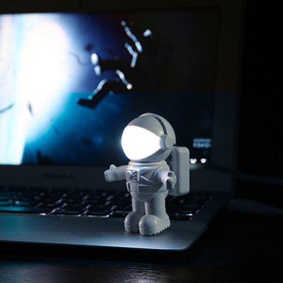 LED Astronaut Night Light Creative USB Spaceman Computer Desk Lamp