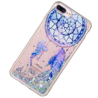 Full Soft Drop-proof Quick-drying Transparent Phone Case for iPhone 6 Plus