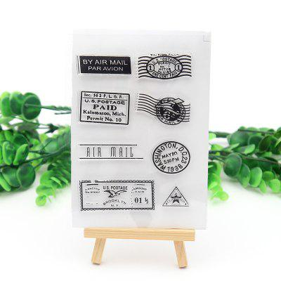 7 - T6665 - Q66.3.33 DIY Transparent Stamp Air Stamp