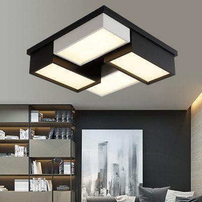 45cm Geometric Grid Module LED Ceiling Lamp for Home