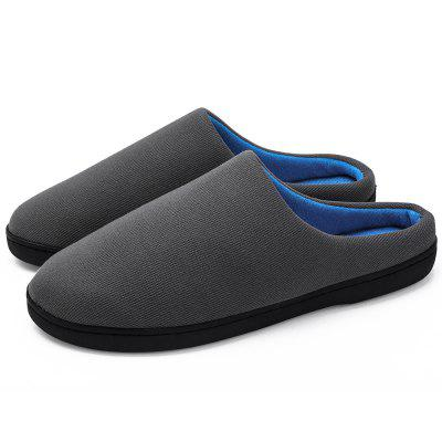 Indoor Breathable Men Warm Slippers for Winter