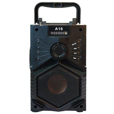 A16 Portable Bluetooth Speaker with Microphone Jack FM Hands-free Call