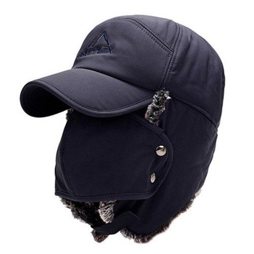 Fashion Big Ear Embroidery Thick Warm Hat for Winter