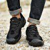 Men Leisure Outdoor Running Hiking Shoes - BLACK