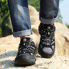 Outdoor Sports Hiking Shoes Men Sneakers - BLACK