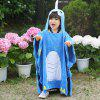 Unicorn Cotton Hooded Children's Baby Bathrobe - DODGER BLUE