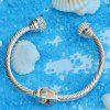 LS - 0003 Popular Simple Alloy Bracelet - SILVER
