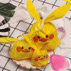 Small Yellow Duck Ear Snack Bag 50pcs - YELLOW