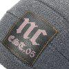 Wool Men's Head Outdoor Hat - DARK GRAY