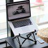 Portable Folding Laptop Stand Desktop Notebook Holder - BLACK