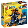 Mould King 13002 Building Blocks RC Robot Electric Model for Children 392pcs - OCEAN BLUE