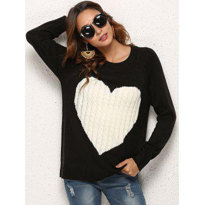 Love Sweater Women Warm Mode