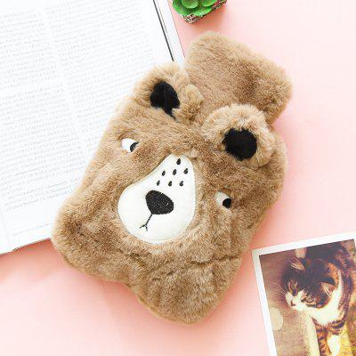 Cartoon Winter Plush Portable Hot-water Bag