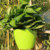 Green Large Automatic Lazy Flower Pot with Planting Basket Water-absorbing Cotton Rope Hook - GREEN SNAKE
