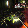 Portable LED Tent Lamp Night Light for Outdoor - YELLOW GREEN