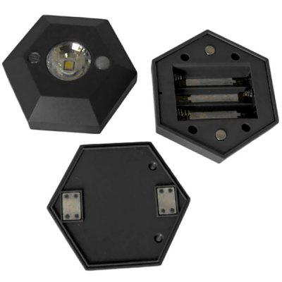 Hexagonal-forma de alto brilho LED Light Sensor para gaveta do armário de guarda-roupa gaveta