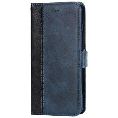 Vintage Stitching Leather Mobile Phone Case Wallet Card Inserting Fall Protection Cover for iPhone 8