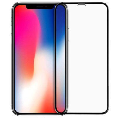 Black New 5D Protective Screen for iPhone X