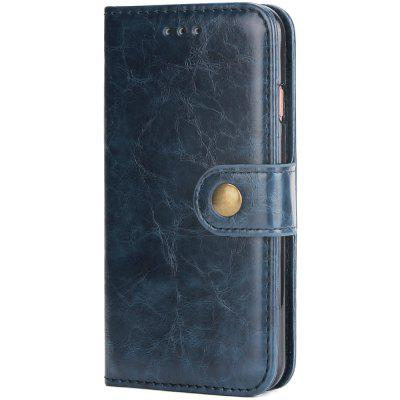 Crazy Horse lederen mobiele telefoon case voor iPhone 6 Plus