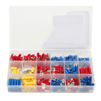 300PCS Electrical Butt Connector Insulated Terminals