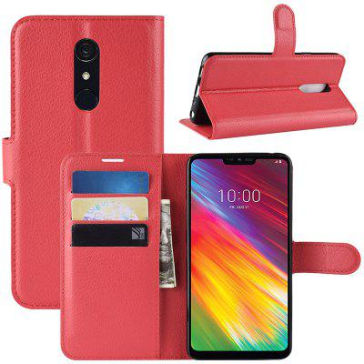 Naxtop Lychee Flip Cradle Protective Case for LG G7 Fit