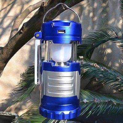 Portable Solar Power Camping Light Emergency Lamp for Outdoor