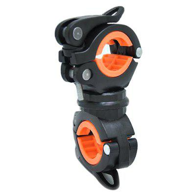 360-degree Rotating Universal Flashlight Holder Bracket